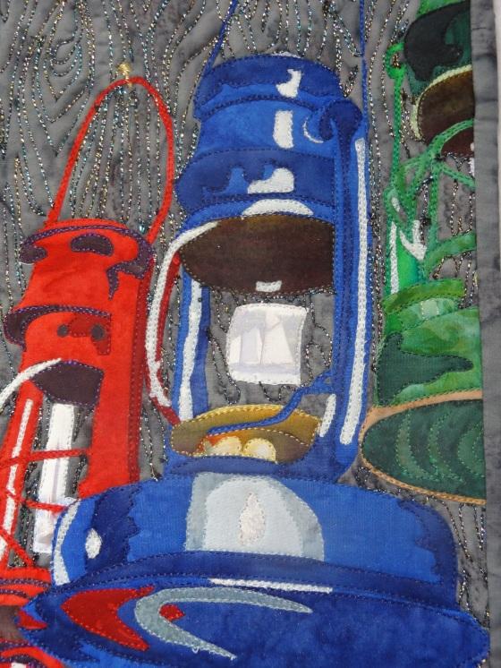 "Lamps, 2013, 7"" x 10"""